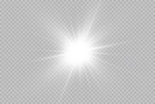 Shine Starlight Isolated On T...