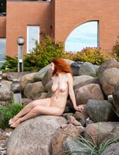 Sexy Redhead Enjoying Summertime
