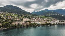 Montreux Before Rain Lake View