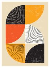 Minimal 20s Geometric Design Poster
