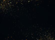 Glitter Vintage Lights Background. Defocused