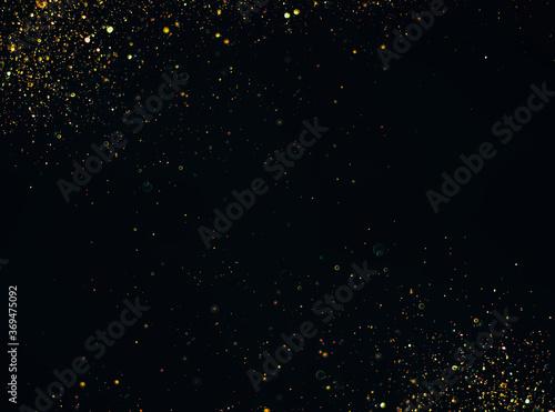 Obraz glitter vintage lights background. defocused - fototapety do salonu