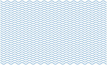 Blue Curvy Wave Line Pattern Vector