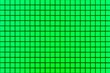 canvas print picture - Green mosaic wall tile pattern and seamless background