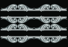Metal Ornamental Romanesque Is A Ornament With Silver Coloured Of Ornament Of Ethnical Building On Romanesque Age. This File Is Isolated, You Can Download And Use It For Any Needed.