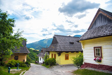 Traditional Village In Slovaki...
