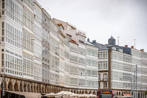 Coruña ciudad historica y monumental de la vieja Europa