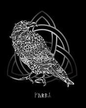 Odin's Celtic Raven
