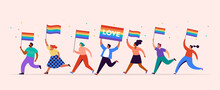 Gay Pride Concept Illustration...