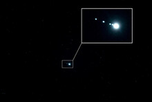 Nightscape, Night Full Of Stars, Jupiter And The Four Galilean Moons, The Four Largest Moons Of Jupiter Are Io, Europa, Ganymede, And Callisto