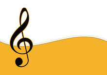 Music Background For Design, Vector And Illustration,Template Design For Postcard , Shapes , Brochure And Banner.