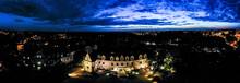 Pałac W Lublińcu Nocą Z Lot...