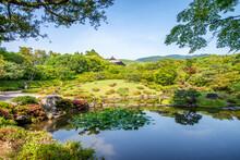 Yoshikien Garden In Nara Is A ...