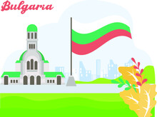 Bulgaria Independence Day Vect...