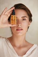 Skin Care. Beauty Portrait Of ...