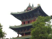 The Building In Shaolin Temple...