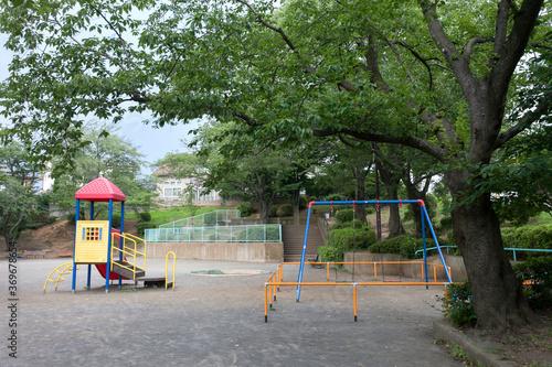 Fototapeta 青葉台第二公園(横浜市青葉区) obraz na płótnie