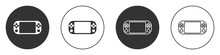 Black Portable Video Game Cons...
