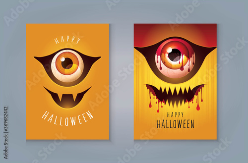 Photo Happy Halloween Night Party greeting card