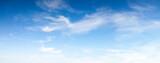 Fototapeta Na sufit - Blue soft sky