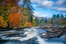 Falls Of Dochart, Killin, Scotland.