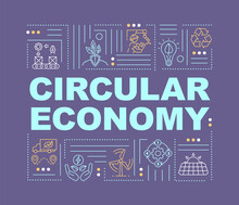 Circular Economy Model Word Co...