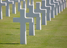 The American Military Cemetary...