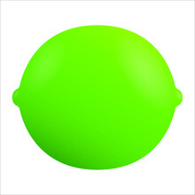 Vector Illustration Of A Lime