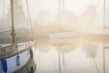 An Elegant Wooden Sailing Boat...