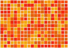 Mosaic From Vector Squares Wit...