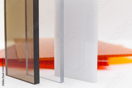 Solid Polycarbonate Sheet Canvas Print