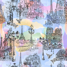 Paris Watercolor Wallpaper