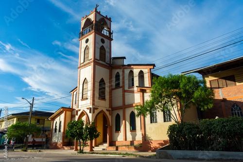 San Francisco de Asís Parish in Contamana, Ucayali, Loreto. One February afternoon.