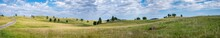Panoramic Open Grassland Prair...