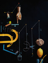 Making Lemonade Flat Lay, Rube Goldberg Machine Reference