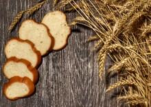 Sliced white Wheat Bread...