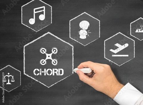chord Canvas Print