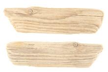 Driftwood Isolated On White Ba...