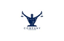 Lady Justice Law Firm Logo