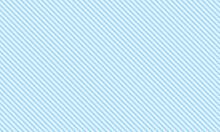 Classic Light Blue Diagonal Vintage Line Pattern On Blue Background Vector