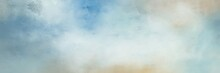Awesome Abstract Painting Background Texture With Light Gray, Pastel Blue And Cadet Blue Colors And Space For Text Or Image. Can Be Used As Horizontal Background Texture