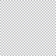 Realistic Transparent Background With Gray And White Checkers.Vector Graphic.