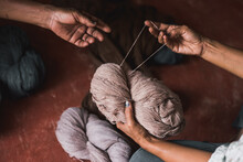 Natural Dyed Cotton Threads