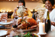 Thanksgiving Dinner With Friends.