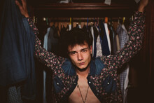 Fashion Portrait Of A Young Man