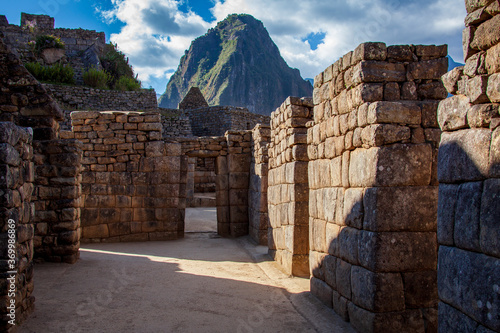The Incans of Machu Picchu used sophisticated dry stone techniques to build their buildings without mortar.