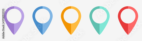 Fotomural Location Icons