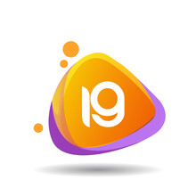 Letter IG Logo In Triangle Splash And Colorful Background, Letter Combination Logo Design For Creative Industry, Web, Business And Company.