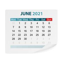 Calendar June 2021