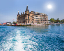 Haydarpasa Train Station And P...